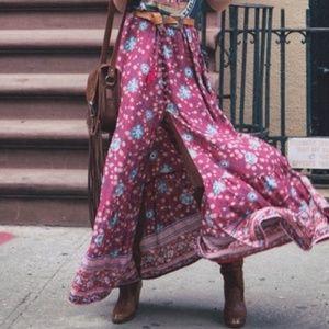 Dresses & Skirts - Folktown Print Maxi Skirt